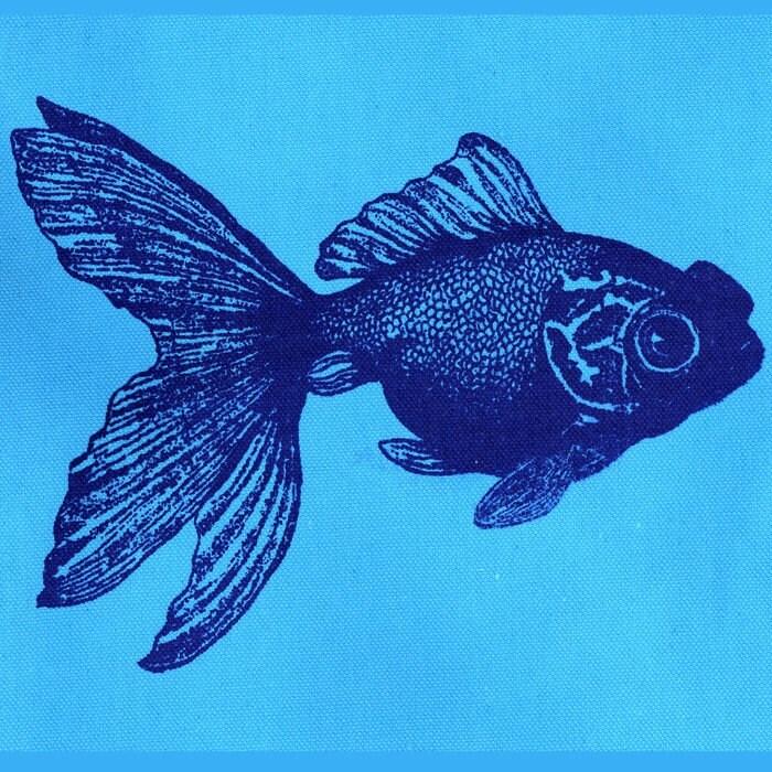 Koi fish tote bag for Koi fish purse