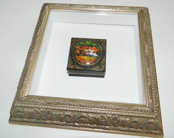 Small Victorian Style Shadow Box Frame
