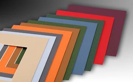 Lot Of 10 Pre Cut Acid Free Matboards Size 8 X 10 Colors