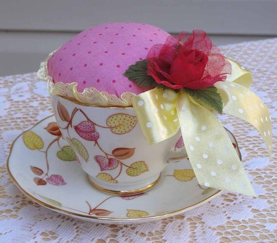 Winifred ......... Teacup Pincushion