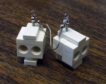 Mini Skull Dangle Earrings