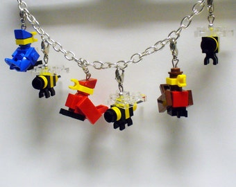 Birds and Bees Charm Bracelet