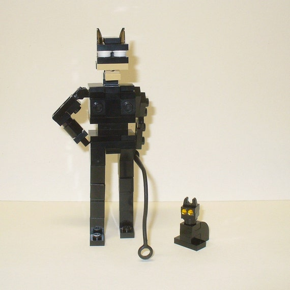 Custom LEGO Cat woman Model