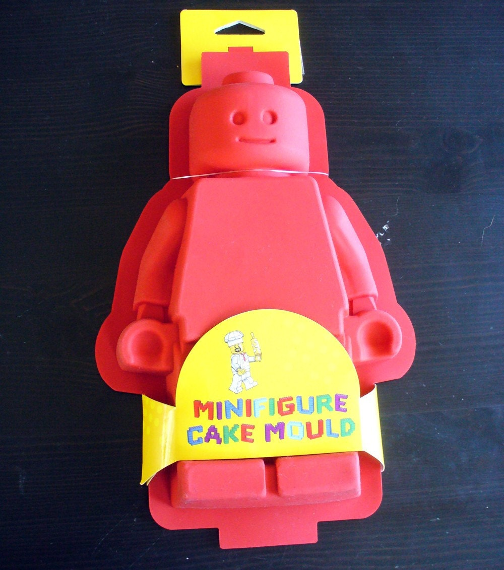 Permalink to Lego Man Cake Mould