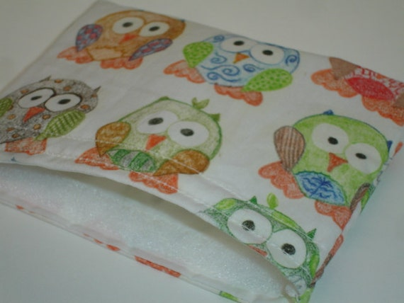 Short Legged Owls in Multi Reusable Snack Bag