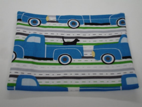 Pooches and Trucks Reusable Snack Bag