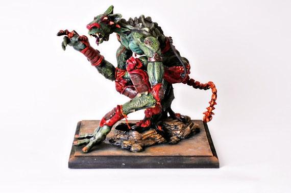 Posable Reptilian Warrior