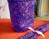 Knitting project bag - needle case