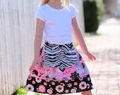 Posh Princess Apron Twirl skirt - Available sizes 6m 12m 18m 2T 3T 4T 5 6 7 8