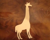 One Fourth Inch Thick Mdf Giraffe Mosaic Collage Base Shape Form Cutout