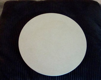 "18"" Circle Unfinished Round Mosaic Base Craft Shape Choose Your Thickness"