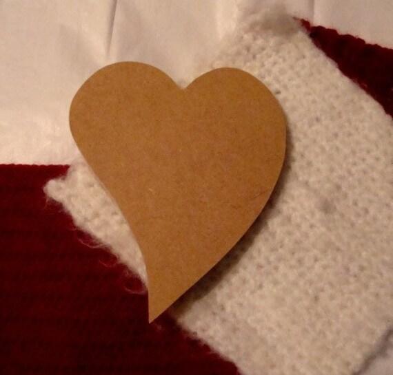 Unfinished Curved Heart Mosaic Base/Decorative Shape