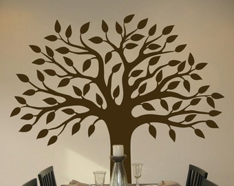 Perfect Pretty Tree - Wall Decals - Your Choice of Color