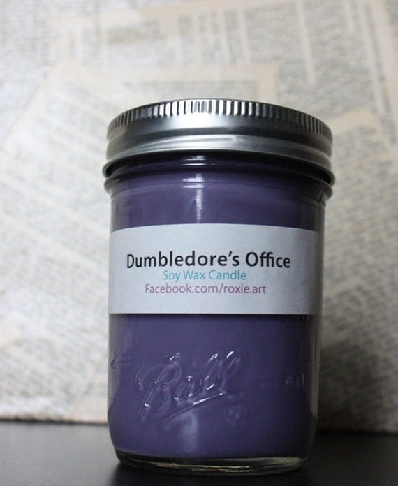 Dumbledore's Office & Shire Candles (2 pack) Soy Wax 8oz jars