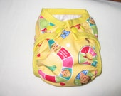 NEWBORN DICK AND JANE DIAPER COVER FOR PREFOLD, FITTED, LINERS