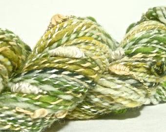 Handspun Yarn - Worsted Weight with Turkish Knots - 160 yards