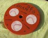 Tree Swing ... SF Giants Baseball