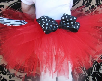 Minnie Mouse / Mickey Mouse Red Tutu