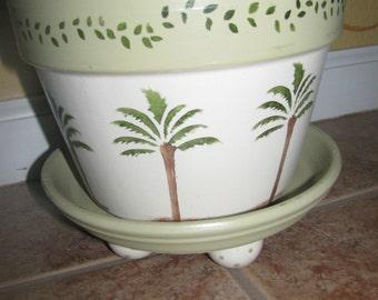 Palm tree Flower Pot