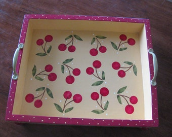 Serving Tray ... Cherry Tray