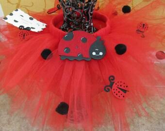 Tutu ... Ladybug Skirt
