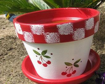 Flower Pot ... Cherry