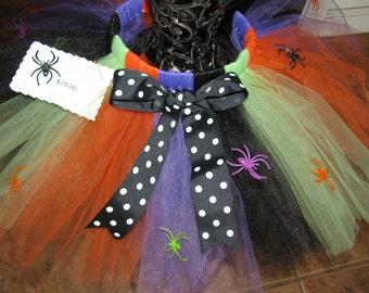 Spider Halloween Tutu skirt