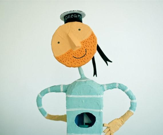 Dreamy seaman  art doll