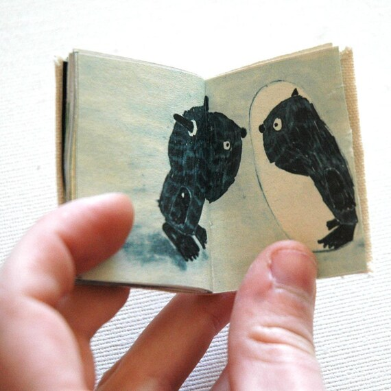 SALE   A tiny book with my illustrations