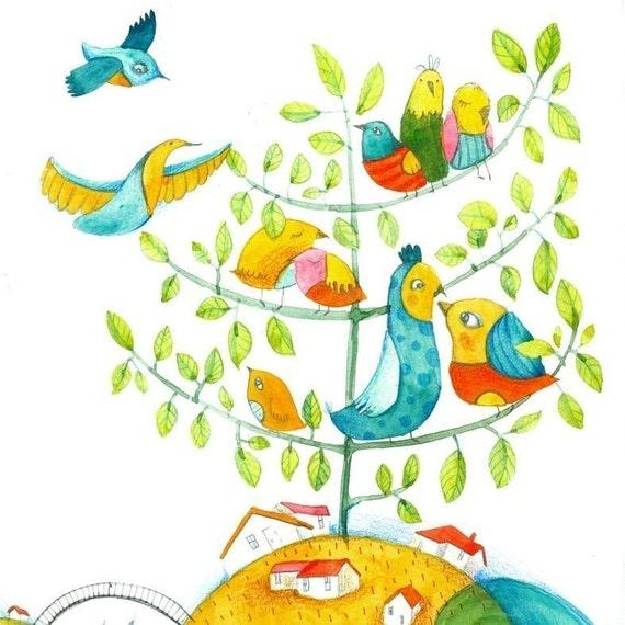 the land of happy birds