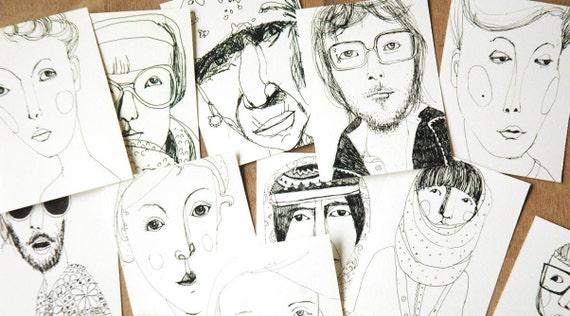 16 portraits