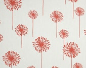 TABLE RUNNER - Premier Prints Dandelion White/Coral
