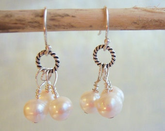 Pearl Earrings (free shipping)