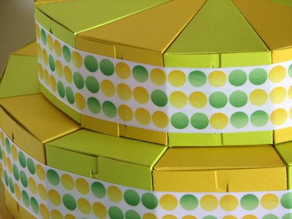 Lemon Lime Favor Cake - 24 boxes