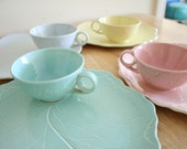 Snack Plates and Teacups by Taylor Smith Taylor USA