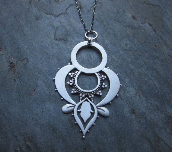 Double Lotus Pendant