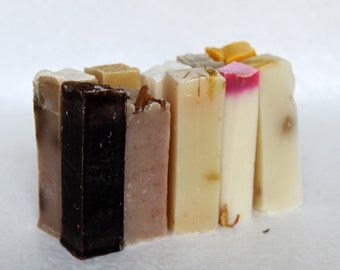 10 mini bars of Soap | natural soaps, handmade soap, artistas soap, cold process soap, gift