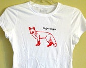 Red Fox (Vulpes Vulpes) Womens Tee - SALE - Was 19, Now 8