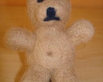 Needle Felted Teddy Bear