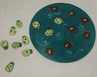 Fancie Counting and Matching Turtles