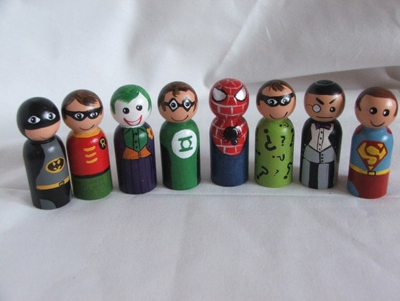 Custom Fancie Heros and Villans