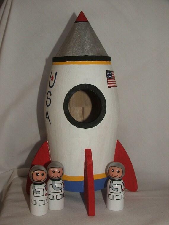 Fancie Fannies Rocket Ship