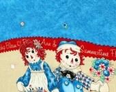 Raggedy Ann and Andy Sun Jumper Dress fabric