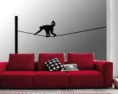 ShaNickers Wall Decal/Sticker-Monkey Business 2-FREE SHIPPING