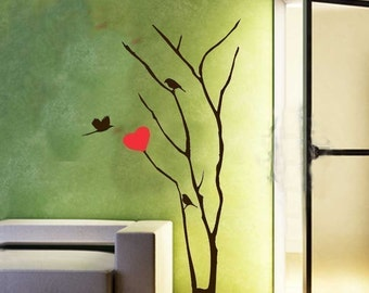 ShaNickers Wall Decal/Sticker-Love Tree-FREE SHIPPING