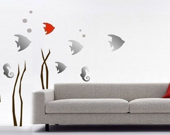 ShaNickers Wall Decal/Sticker-Under the Sea-FREE SHIPPING
