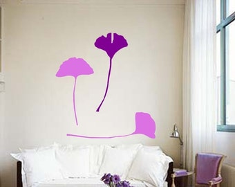 ShaNickers Wall Decal/Sticker-Gingkos-FREE SHIPPING