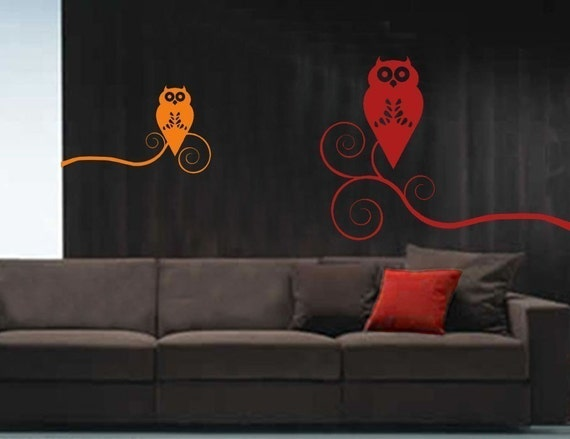 ShaNickers Wall Decal/Sticker -Give a Hoot- FREE SHIPPING