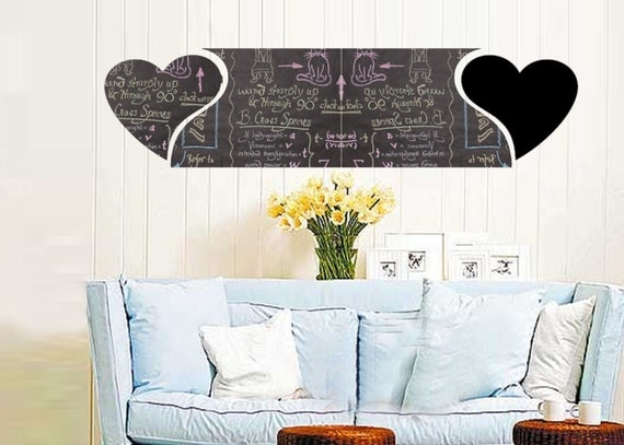 ShaNickers Wall Decal/Sticker -Chalkies-Hearts-FREE SHIPPING