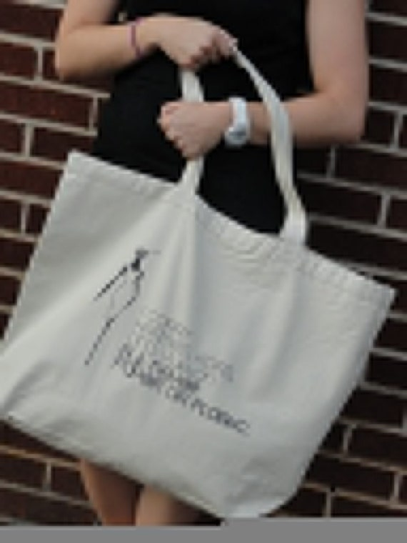 Fashionable Market Bag - I Carry Hermes, Kors and Vuitton But Never Paper or Plastic